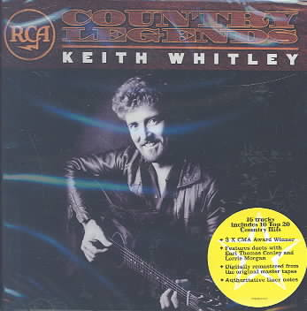 RCA COUNTRY LEGENDS BY WHITLEY,KEITH (CD)
